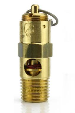 150 PSI Air Compressor Safety Relief Pop Off Valve Solid Bra