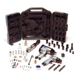 AIR COMPRESSOR TOOL KIT 50Pcs Impact Wrench Air Chisel Ratch
