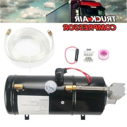 Air Compressor With 3 Liter Tank 150PSI DC 12V For Train Tru