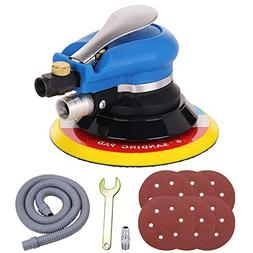 "Anesty 6"" Air Random Orbital Sander, Dual Action Pneumatic O"