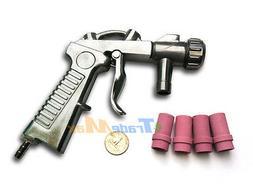Air Siphon Feed Media Sandblaster Blast Gun Siphone Air Gun