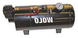 """Air Tank Compressor,10.5A,5-1/2"""" dia."""