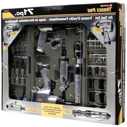 Professional 71 Pcs Air Tools Set Accessories Kit Automotive