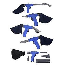 Air Vacuum Blow Gun. Pneumatic Air Suction Blow Gun Kit Incl