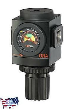 "ARO R37341-600-VS Air Regulator 1/2"" NPT, w/ Gauge - 250 psi"