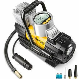 AstroAI Portable Air Compressor Pump 100 PSI, Digital Tire I