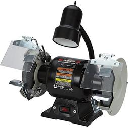 Ironton 6in. Bench Grinder with Lamp