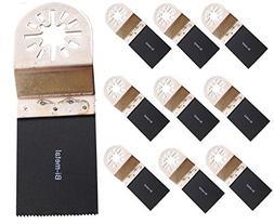 "ABN 10 Pack Bi-Metal Oscillating MultiTool 1 3/8"" Saw Blade"