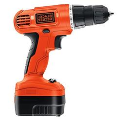 BLACK+DECKER GCO1200C 12-volt Cordless Drill with Over Molds