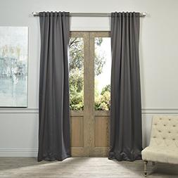 Half Price Drapes BOCH-201403-108 Blackout Curtain, Anthraci