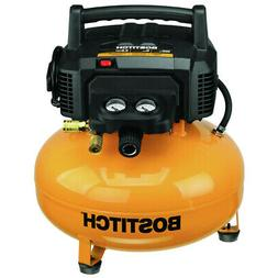 Bostitch BTFP02012 6-Gallon 150 PSI 78.5 dBA Oil-Free Electr