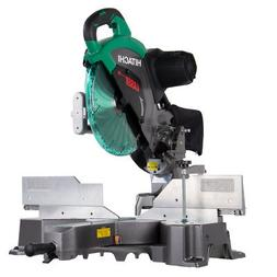 Hitachi C12RSH2 15-Amp 12-Inch Dual Bevel Sliding Compound M
