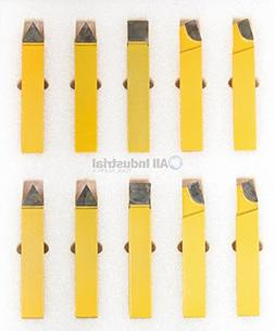"20 PC 3/4"" C2 & C6 CARBIDE-TIPPED TOOL BIT SET SINGLE POINT"