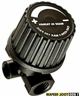 Porter Cable Air Compressor Replacement 3-Port Regulator # C