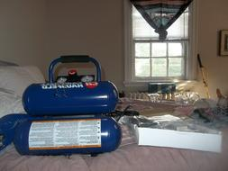 CAMPBELL HAUSFELD 1 HP 2 Gallon TWIN STACK AIR COMPRESSOR &