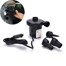 FidgetFidget Car Auto DC Electric Air Pump Inflator +3 Nozzl