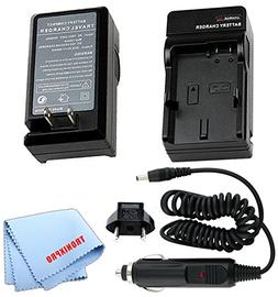 Car / Home Battery Charger for Fujifilm NP-W126 Battery For