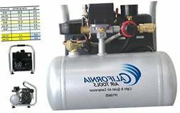 CAT-1P1060S Light & Quiet Portable Air Compressor, Silver