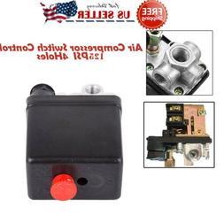 Central Pneumatic Air Compressor Pressure Switch Control Val