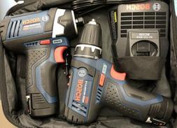 Bosch Power Tools Drill Kit - CLPK22-120, BC330 - 12-Volt, T