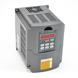CNC 1.5kw 1500w 110v 2hp Variable Frequency Drive Inverter V