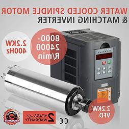 CNCShop Spindle Motor CNC Spindle Motor 2.2KW and VFD Drive