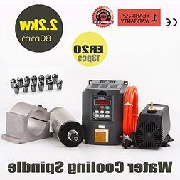 Konmison CNC Spindle Motor Kits Milling Spindle Motor 80MM 2