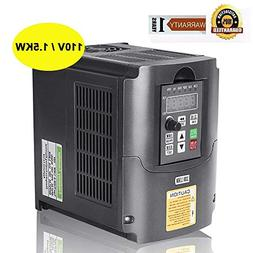 CNC 110V 1.5KW VFD Spindle Inverter 1500W Variable Frequency