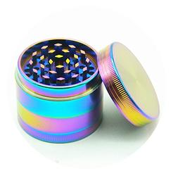 Moore Colourful 4 Pieces Metal Zinc alloy Tobacco Grinder Sp