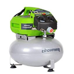 GreenWorks 12 Amp 6 gallon Corded Air Comperssor