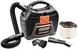 Ridgid 18-volt 3 Gal. Cordless Wet/dry Vacuum