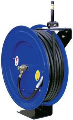 3/8-Inch 100 Feet 100ft Retractable Reel w/ Rubber Air Hose