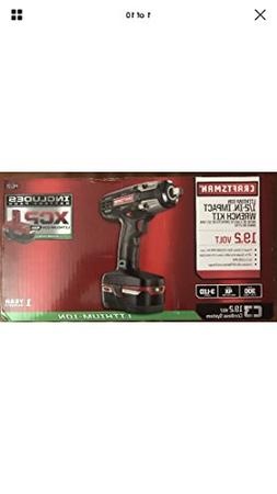 """Craftsman C3 ½"""" Heavy Duty Impact Wrench Kit Powered By 4"""