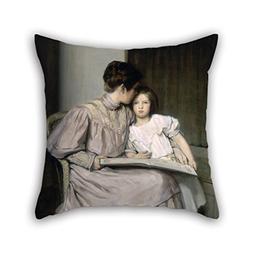 KooNicee Cushion Cases Of Oil Painting William Sergeant Kend