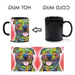 CafeTime Custom Cute Pet Magic Coffee Mugs Heat Sensitive Co