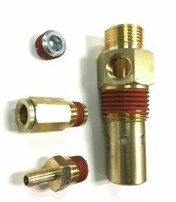 CV221502AJ CAMPBELL HAUSFELD CHECK VALVE W/ FITTING AIR COMP