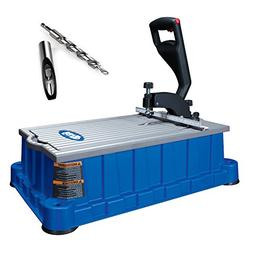 Kreg DB210 Foreman 110V Pocket-Hole Machine, Storage Tray, D