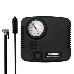 GOOLOO DC 12V Portable Tire Inflator - 300 PSI Air Compresso