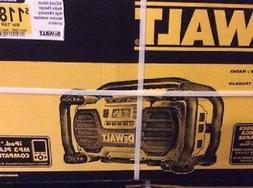 NEW DEWALT DC012 HEAVY DUTY 7.2 TO 18 VOLT RADIO CORDLESS TO