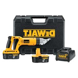 DEWALT DC490KA 18-Volt Cordless 18 Gauge Swivel Head Shear K