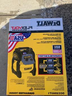 DEWALT DCC2560T1 FlexVolt Cordless Air Compressor Kit 2.5 Ga