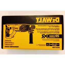 """New Dewalt DCH133 20V SDS 1"""" Rotary Hammer Drill,  DCB205 5."""
