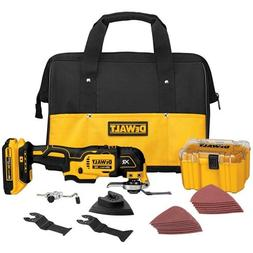 DEWALT DCS355D1 20V XR Lithium-Ion Oscillating Multi-Tool Ki