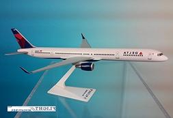 Delta Air Lines  757-300 Airplane Miniature Model Snap Fit 1
