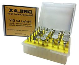 Drilax™ 50 Pcs Professional Quality High Density Diamond D