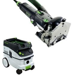 Festool DF 500 Q Domino Jointer + CT 26 E Dust Extractor Pac