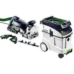 Festool DF 700 Domino XL Set + CT 48 Dust Extractor Package