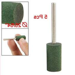 "5 Pcs 25/64"" Dia Cylinder Rubber Polisher Grinding Mounted P"