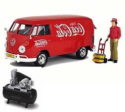Diecast Car & Air Compressor Package - 1963 Volkswagen T1 Co