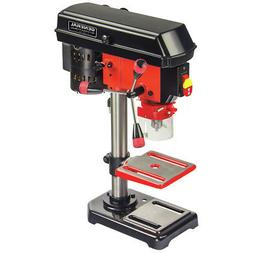 "General International DP2001 5-Speed Drill Press, 8"", Red, B"